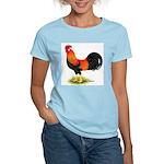 Brown Leghorn Rooster Women's Light T-Shirt