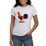 Brown Leghorn Rooster Women's T-Shirt