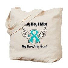 Ovarian Cancer Miss My Hero Tote Bag