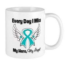 Ovarian Cancer Miss My Hero Mug