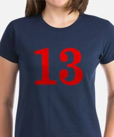 RED #13 Tee
