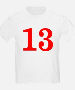 RED #13 T-Shirt