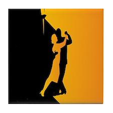 Tango Lovers Tile Coaster