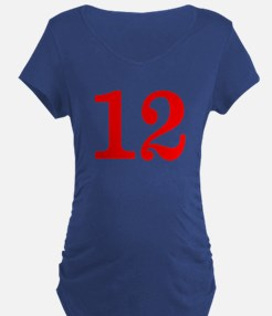 RED #12 T-Shirt