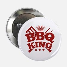 "BBQ KING 2.25"" Button (10 pack)"