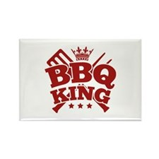 BBQ KING Rectangle Magnet