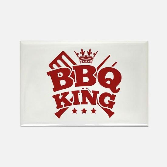 BBQ KING Rectangle Magnet