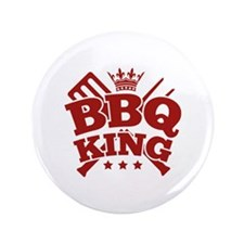 "BBQ KING 3.5"" Button"