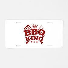 BBQ KING Aluminum License Plate
