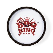BBQ KING Wall Clock