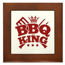 BBQ KING Framed Tile