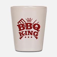 BBQ KING Shot Glass