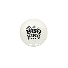 BBQ KING Mini Button (10 pack)