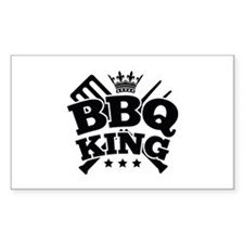 BBQ KING Decal