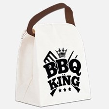 BBQ KING Canvas Lunch Bag