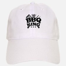BBQ KING Baseball Baseball Cap