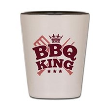 BBQ KING Shot Glass