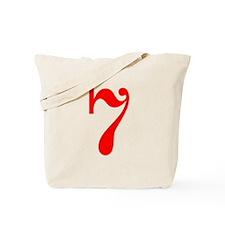 RED #7 Tote Bag