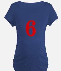 RED #6 T-Shirt