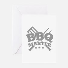 BBQ MASTER Greeting Cards (Pk of 10)