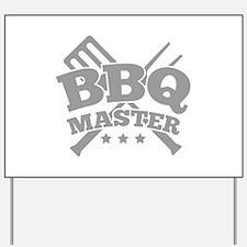 BBQ MASTER Yard Sign