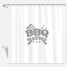 BBQ MASTER Shower Curtain
