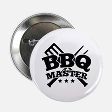 "BBQ MASTER 2.25"" Button (10 pack)"