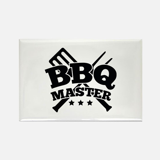 BBQ MASTER Rectangle Magnet