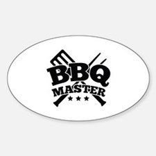 BBQ MASTER Decal