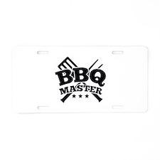 BBQ MASTER Aluminum License Plate