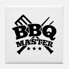 BBQ MASTER Tile Coaster