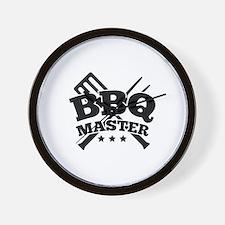 BBQ MASTER Wall Clock