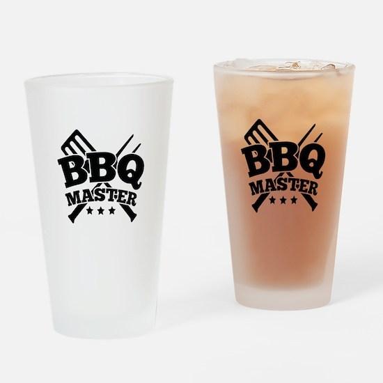 BBQ MASTER Drinking Glass