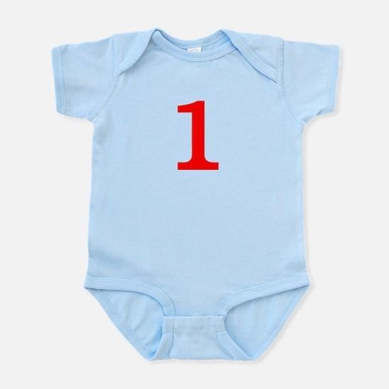RED #1 Infant Bodysuit