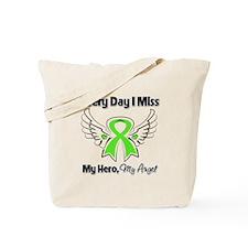 Lymphoma Miss My Hero Tote Bag