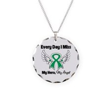 Liver Cancer Miss My Hero Necklace