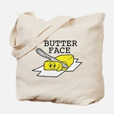 Butter Face Tote Bag