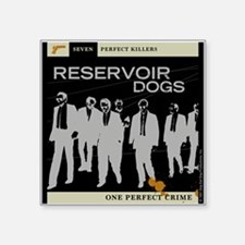 "Reservoir Dogs 7 Killers Square Sticker 3"" X 3"""