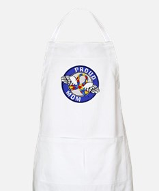 Proud Mom 3 Blue Autism Apron
