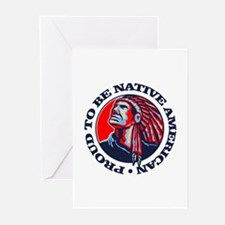 Proud Native American Greeting Cards