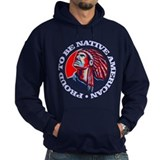 Blackfoot indian Hoodie (dark)