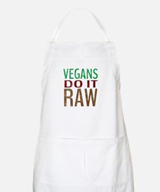 Vegans Do It Raw Apron