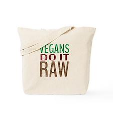 Vegans Do It Raw Tote Bag