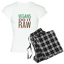 Vegans Do It Raw Pajamas
