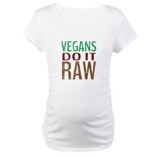 Vegans Do It Raw Shirt