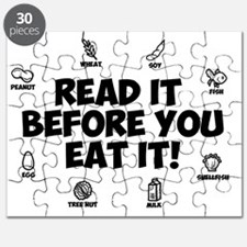 Read It Before You Eat It Puzzle