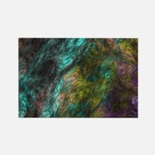 Colorful Night Mist Rectangle Magnet