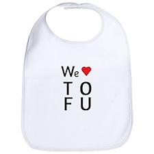 We Love ToFu Bib