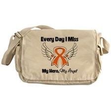 Kidney Cancer Miss My Hero Messenger Bag