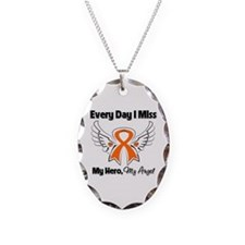 Kidney Cancer Miss My Hero Necklace